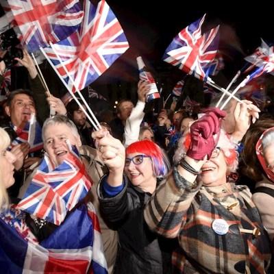 Tras los festejos por el Brexit, las calles británicas vuelven a la normalidad