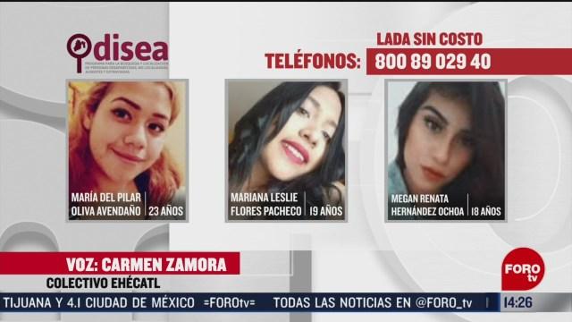 FOTO: buscan a tres amigas desaparecidas en ecatepec