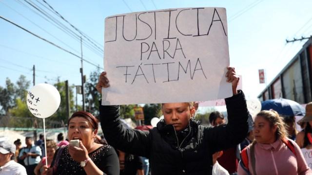Protestas por el feminicidio de fatima