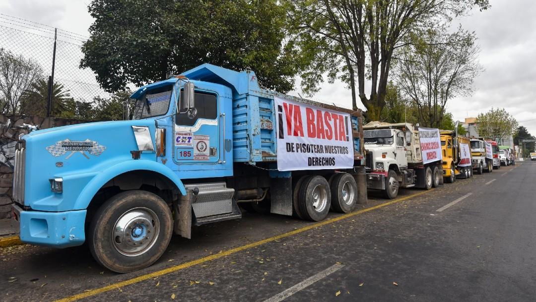 Cancelan transportistas megamarcha en la CDMX