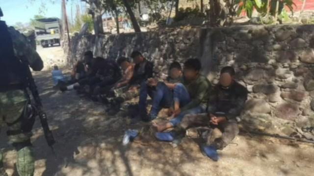 Foto: Detienen a 18 hombres armados en Tierra Caliente, Guerrero, 22 de febrero de 2020, (FOROtv)