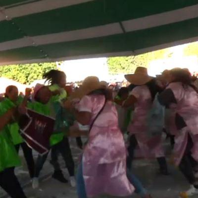Foto: Realizan tradicional guerra de las naranjas en Hidalgo, 15 de febrero de 2020, (FOROtv)