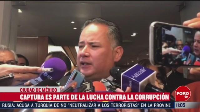 captura de lozoya parte de la lucha contra la corrupcion dice santiago nieto