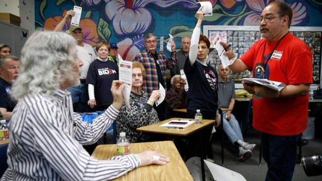 Foto Caucus Elecciones Estados Unidos 2020