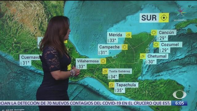 circulacion anticiclonica mantendra temperaturas calurosas en mexico