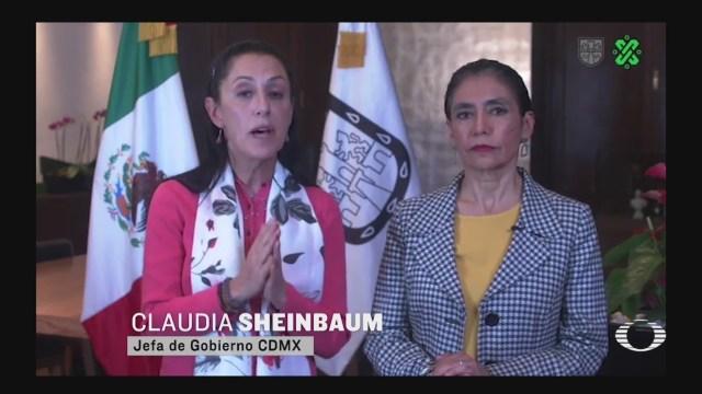 Foto: Coronavirus México Claudia Sheinbaum Calma Capitalinos CDMX 27 Febrero 2020