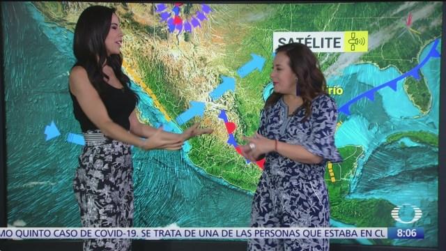 clima al aire frente frio 39 provocara lluvias fuertes