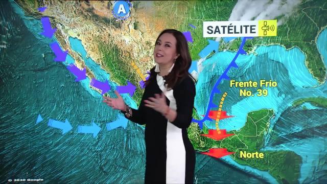 clima al aire pronostican lluvias muy fuertes en el oriente y sureste de mexico