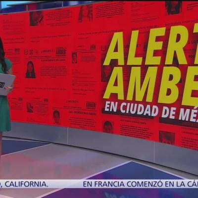 ¿Cómo funciona la Alerta Amber en la CDMX?