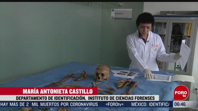 FOTO: como se identifica un cadaver