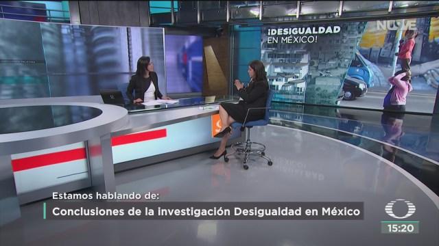 FOTO: conclusiones de la investigacion desigualdad y movilidad social en mexico