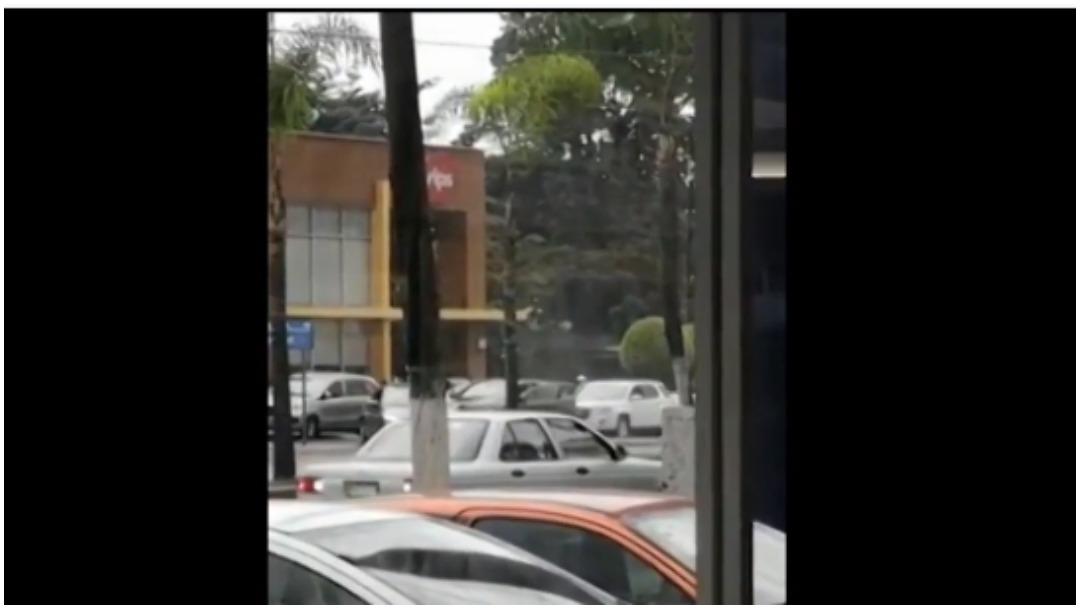 Foto: Dos personas fueron detenidas tras ataques contra policías en Córdoba, 23 de febrero de 2020 (Foro TV)