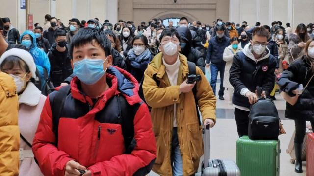 FOTO: Sube a 1765 el saldo de muertos por el coronavirus en China, el 16 de febrero de 2020
