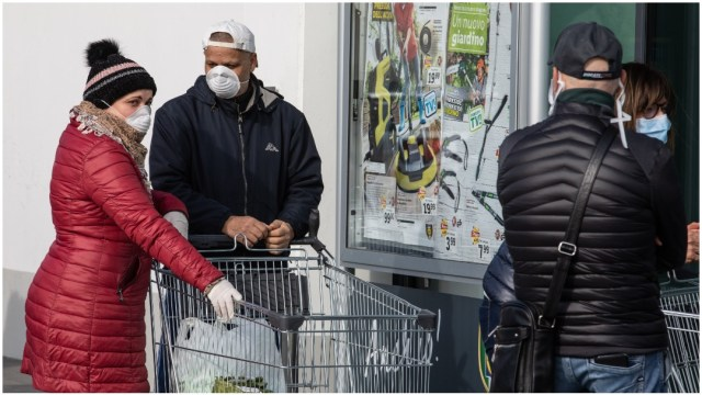 Imagen: Sube el número de muertos en Italia a causa de coronavirus, 29 de febrero de 2020 (Getty Images)