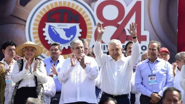 Foto: Juan Carlos Velasco, miembro del comité nacional, afirmó que los trabajadores desean que a la actual administración federal le vaya bien y confirmó su compromiso con el Estado de derecho