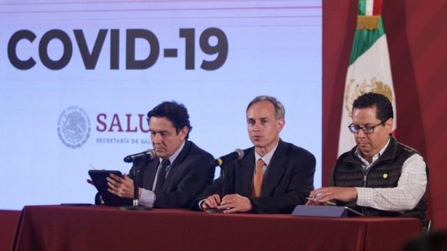 Conferencia por el coronavirus en México. (Cuartoscuro)