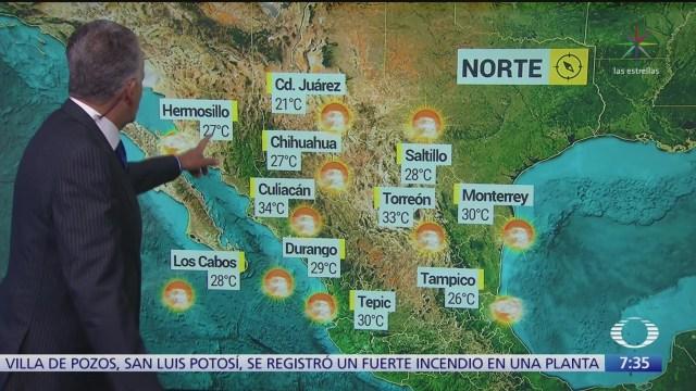 despierta con tiempo prevalece ambiente caluroso en mexico