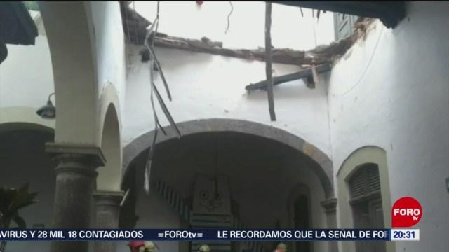 Foto: Desplome Techo Tlaquepaque Dos Lesionados 5 Febrero 2020