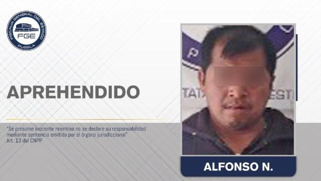Foto: La Fiscalía de Puebla obtuvo orden de aprehensión contra Alfonso N., acusado de violación en agravio de sus hijas, 27 febrero 2020