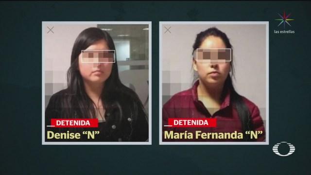Foto: Detienen Denise 'N', Sobrina El Marro 13 Febrero 2020