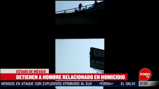 FOTO: 15 Febrero 2020, detienen a hombre acusado del asesinato de una menor