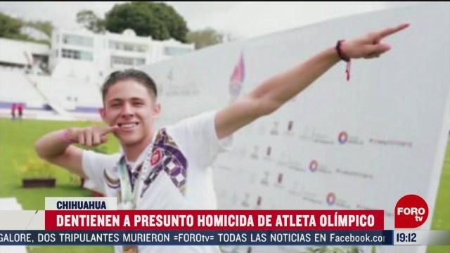 Foto: Detienen Asesino Atleta Olímpico Martín Loera Trujillo 19 Febrero 2020