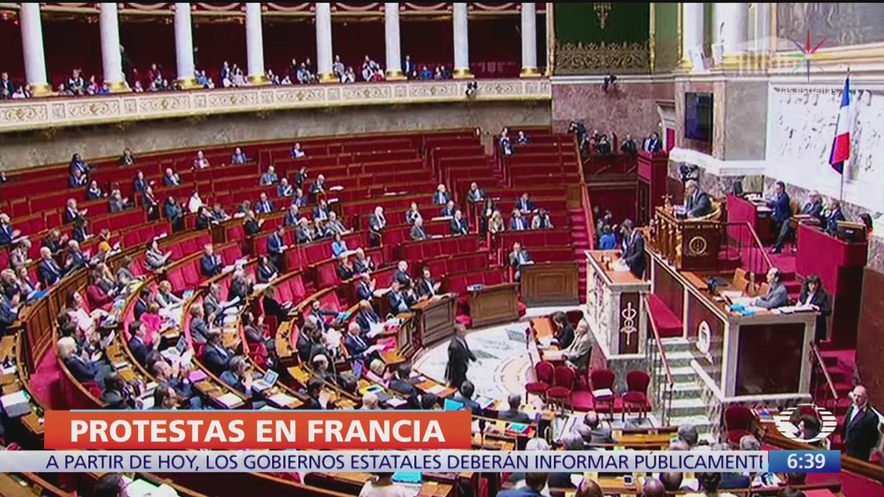 diputados de francia inician debate sobre reforma de pensiones