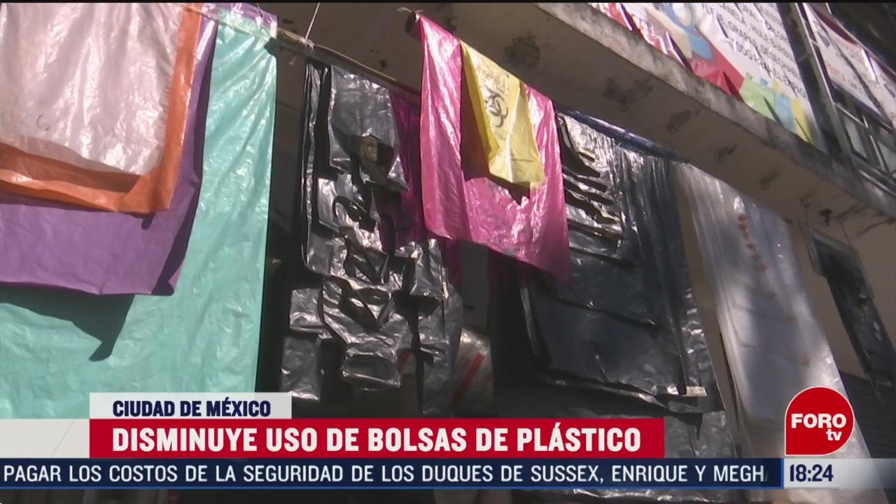 FOTO: disminuye 70 uso de bolsas de plastico en cdmx