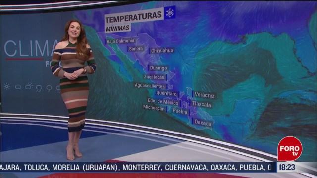 FOTO: el clima con mayte carranco del 17 de febrero de