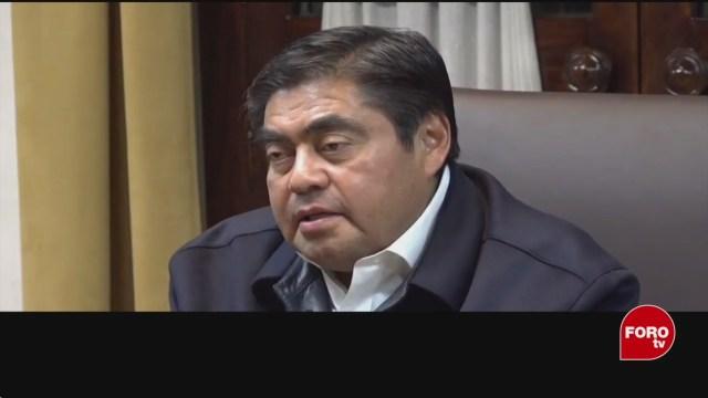 el gobernador de puebla manda sus condolencias a familiares de alumnos asesinados
