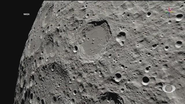 Foto: Nasa Lado Oscuro Luna 4k 25 Febrero 2020