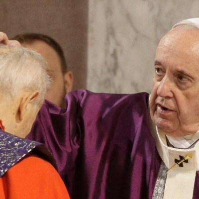 Foto: El papa pide no 'trolear' durante la Cuaresma; celebra el Miércoles de Ceniza