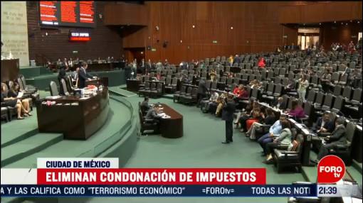 Foto: Diputados Eliminan Condonación Impuestos México Hoy 25 Febrero 2020