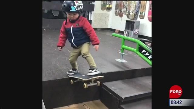 elvideodeldia una estrella en la patineta