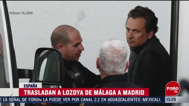 FOTO: emilio lozoya no ha llegado a carcel de madrid