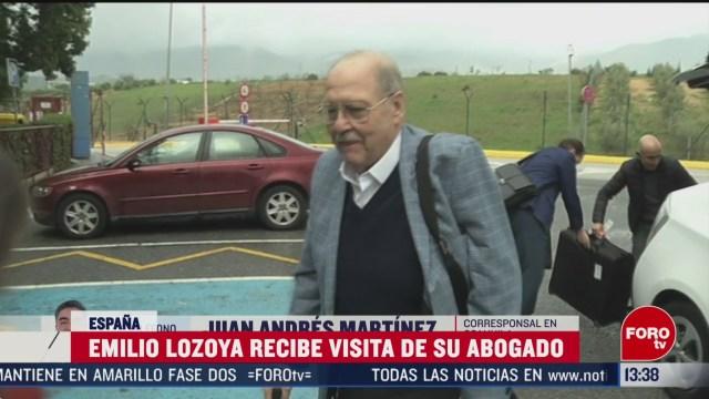 FOTO: emilio lozoya recibe visita de su abogado