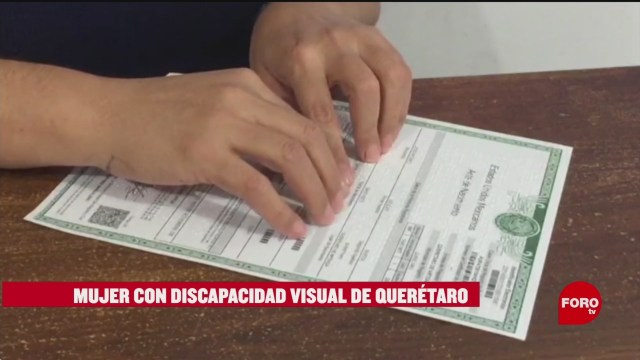 Emiten Documentos Oficiales Braille Querétaro Foto: 10 Febrero 2020