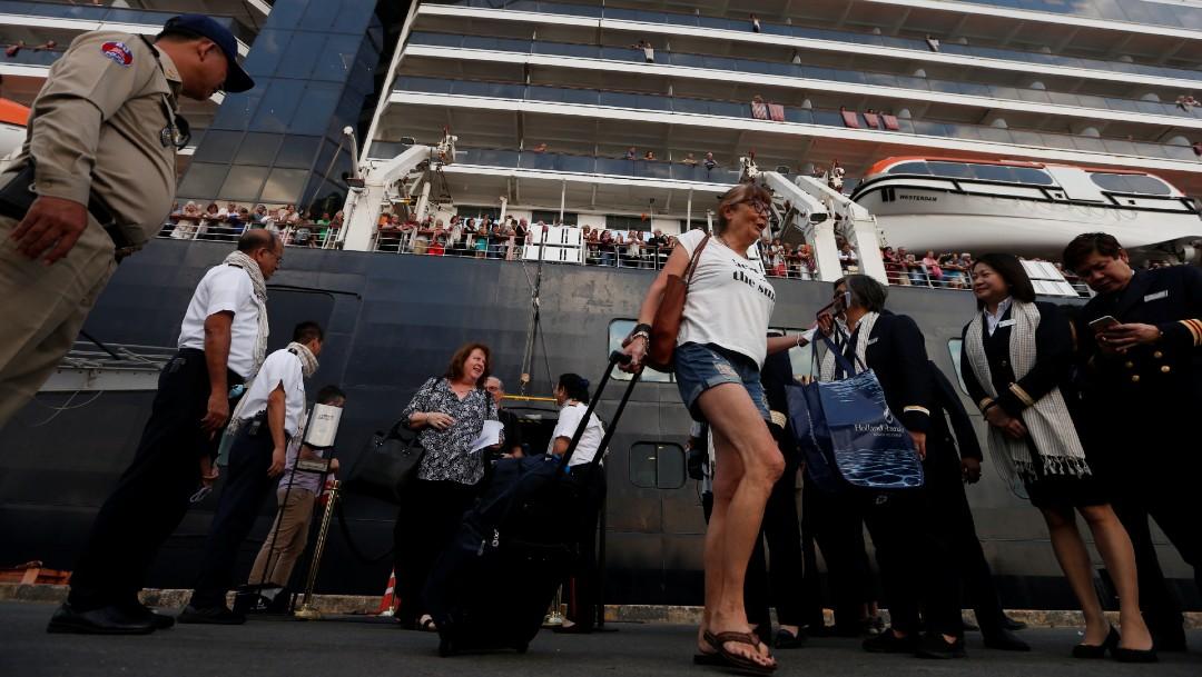 Foto:En plena crisis de coronavirus, Camboya mostró solidaridad con pasajeros de crucero