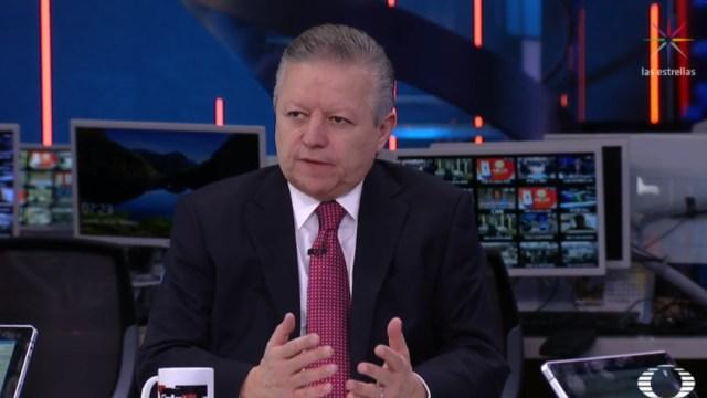 FOTO Arturo Zaldívar, presidente de la SCJN, explica reforma al Poder Judicial, en Despierta (Noticieros Televisa)
