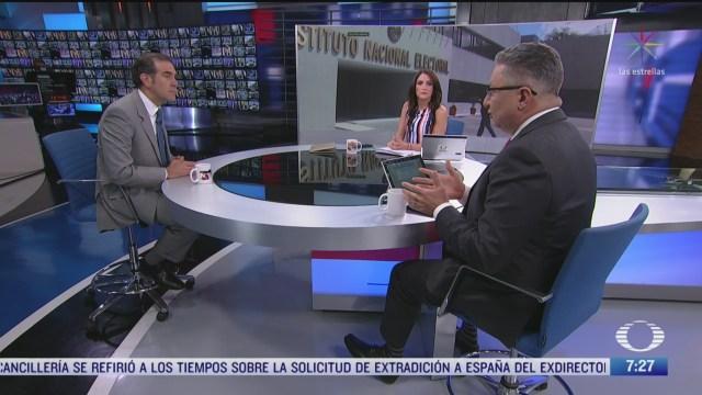 entrevista con lorenzo cordova presidente del ine por registro de nuevos partidos