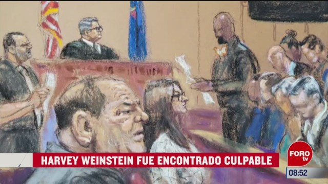 espectaculosenexpreso harvey weinstein fue encontrado culpable