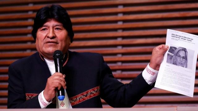 Presentan nueva denuncia contra Evo Morales por sedición