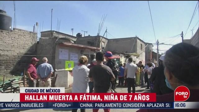 FOTO: exigen justica por muerte de nina fatima