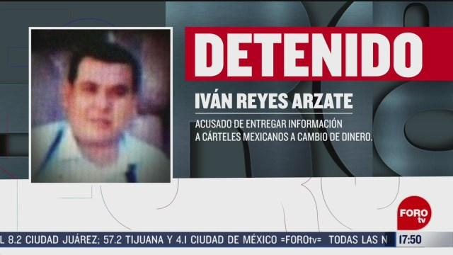 FOTO: expolicia reyes arzate entrego informacion a carteles mexicanos fiscalia de ny