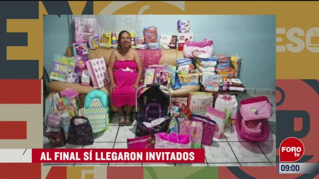extra extra baby shower se vuelve viral