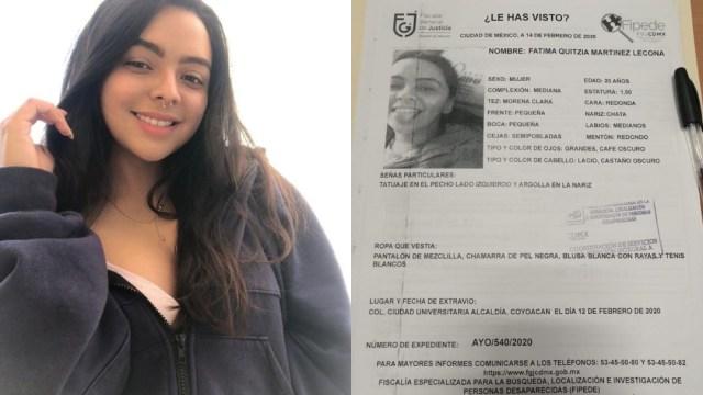 Facultad de Derecho UNAM reporta desaparición de alumna