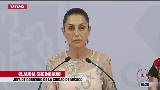 feminicidios le duelen a la ciudad de mexico sheinbaum