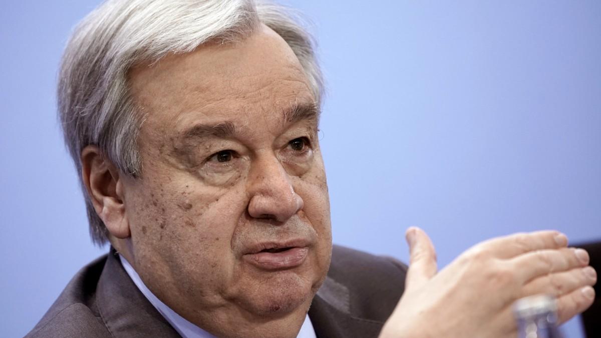 Foto: António Guterres, secretario general de la ONU. Reuters