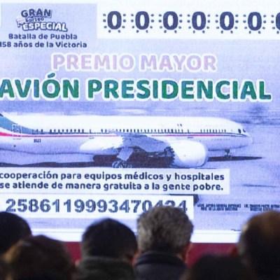Foto: Cachito de la rifa del avión presidencial. Cuartoscuro