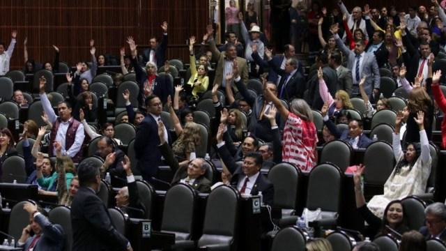 Foto: Sesión en la Cámara de Diputados del 25 de febrero de 2019. Cuartoscuro